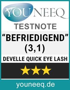Develle Quick Eye Lash Test