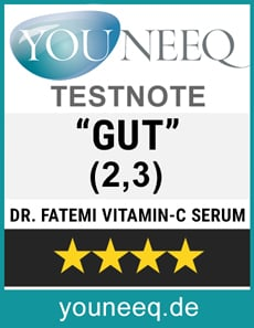 Dr. Fatemi Vitamin-C-Serum Test GUT