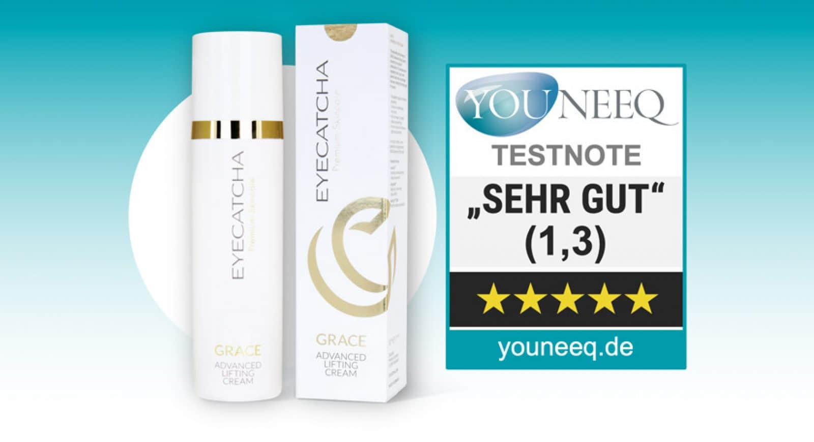 Eyecatcha Grace Advanced Lifting Cream Test