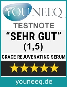 Eyecatcha GRACE Hyaluronserum Test