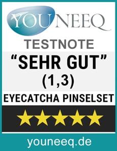 EYACATCHA Pinselset Test