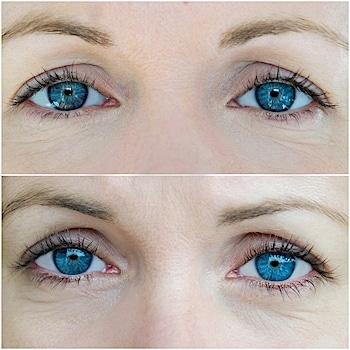 Eyecatcha Wimpernserum vorher nachher