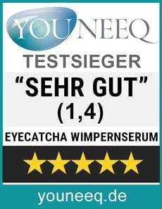 Eyecatcha Wimpern Booster Testsieger
