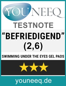 Florence Swimming under the Eyes Gel Pads Test