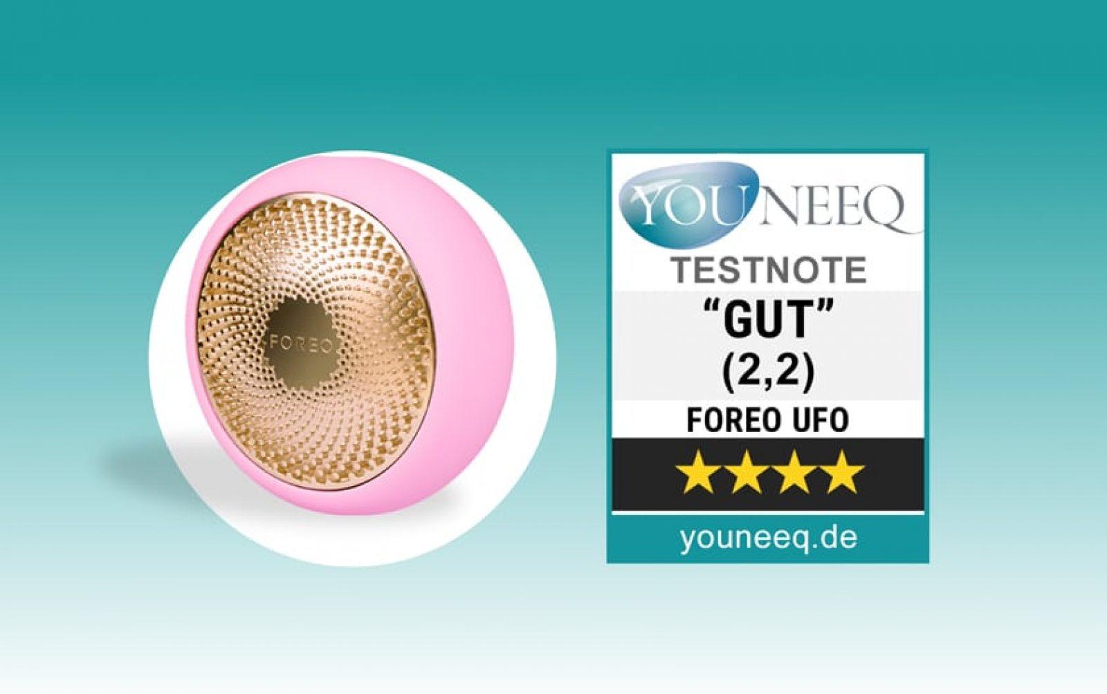 Foreo UFO Maskenbehandlung Test