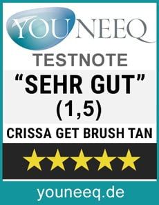 Get Brush Tan Test SEHR GUT