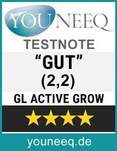 GL Active Grow Test