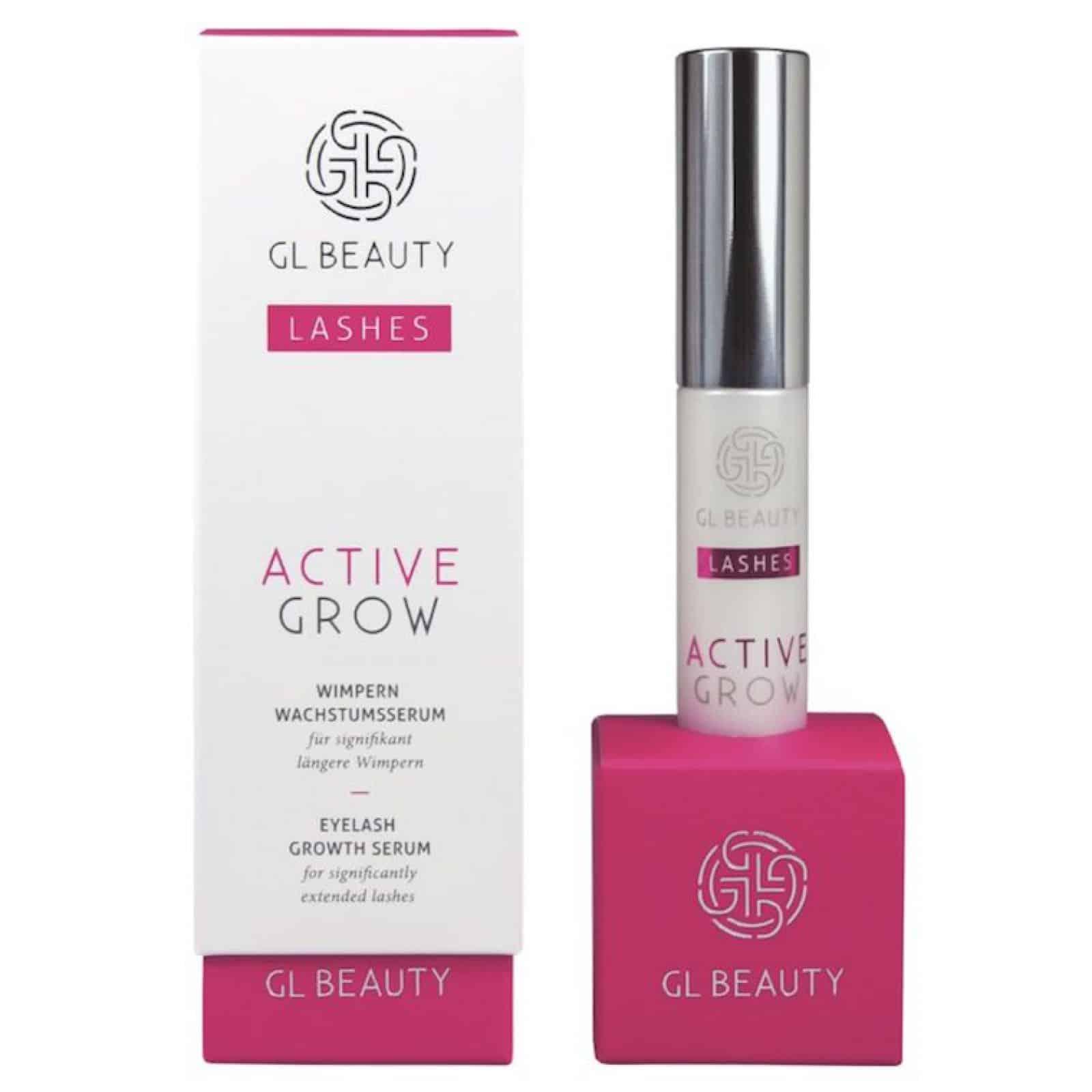 GL Active Grow Wimpernserum Test