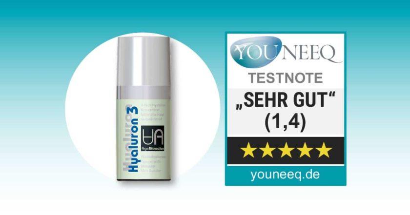 Hyaluron 3 Serum Test