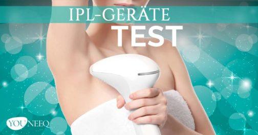 IPL Haarentfernung Test