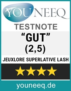 Jeuxlore Superlative Lash Test
