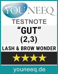 Lash & Brow Wonder Test