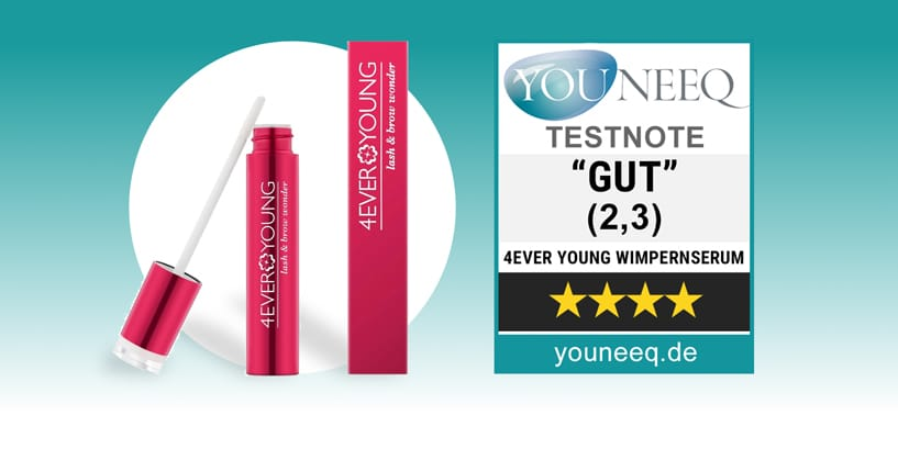 4EverYoung Lash & Brow Wonder Test