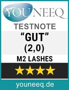 M2 Lashes Test Siegel