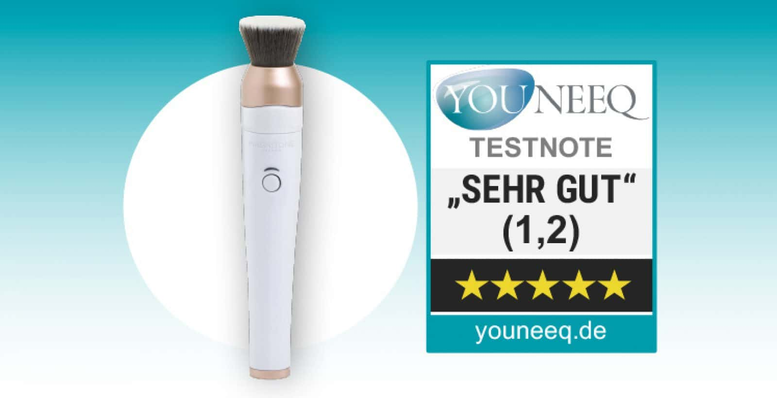 Magnitone Blendup Brush Test