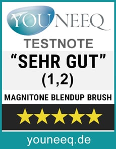 Magnitone Blendup Make Up Blending Brush Test