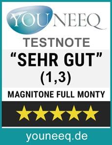 Magnitone Full Monty Gesichtsbürste Testnote SEHR GUT