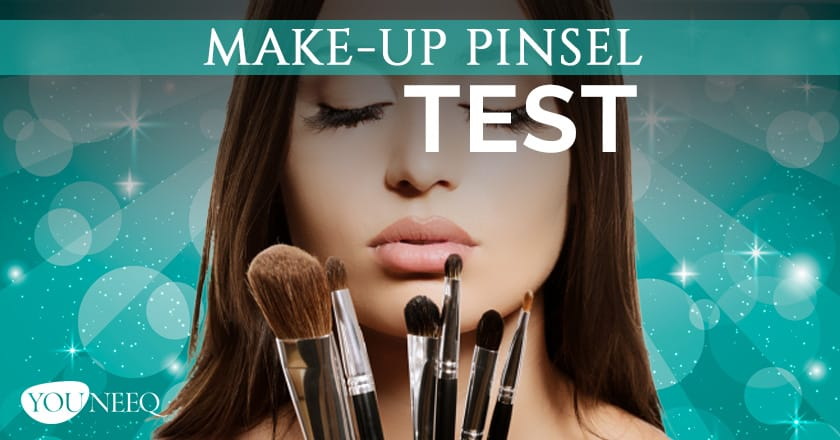 Make Up Pinsel Test