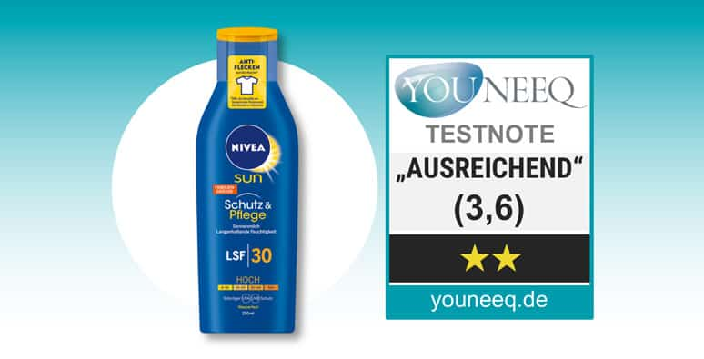Nivea Sonnencreme Test