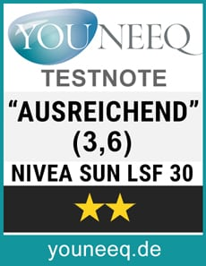 Nivea Sun LSF 30 Test