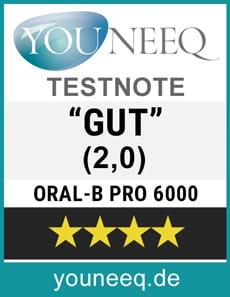 Oral-B Pro 6000 Testsiegel