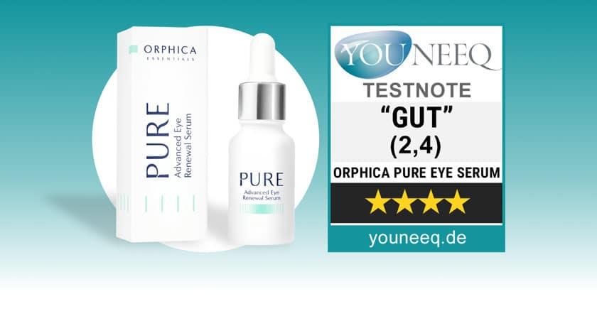 Orphica Pure Augenserum Test