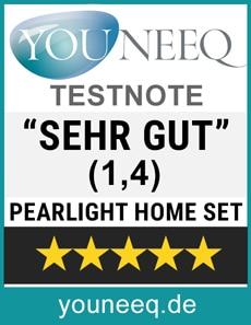 Pearlight Home Set Test Siegel