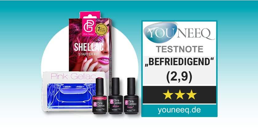 Hedendaags Pink Gellac TEST ++ UV Nagellack ++ Testbericht & Vergleich SG-37