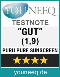 Puru Pure Sunscreen Test