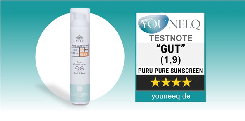 PURU Sunscreen Test