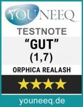 REALASH Testsiegel Youneeq