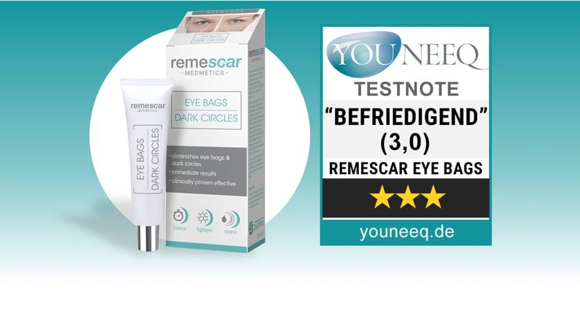 Remescar Augenringe Test Tränensäcke Test