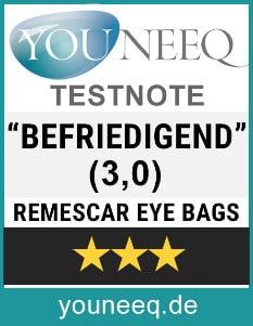 Remescar Augenringe Test
