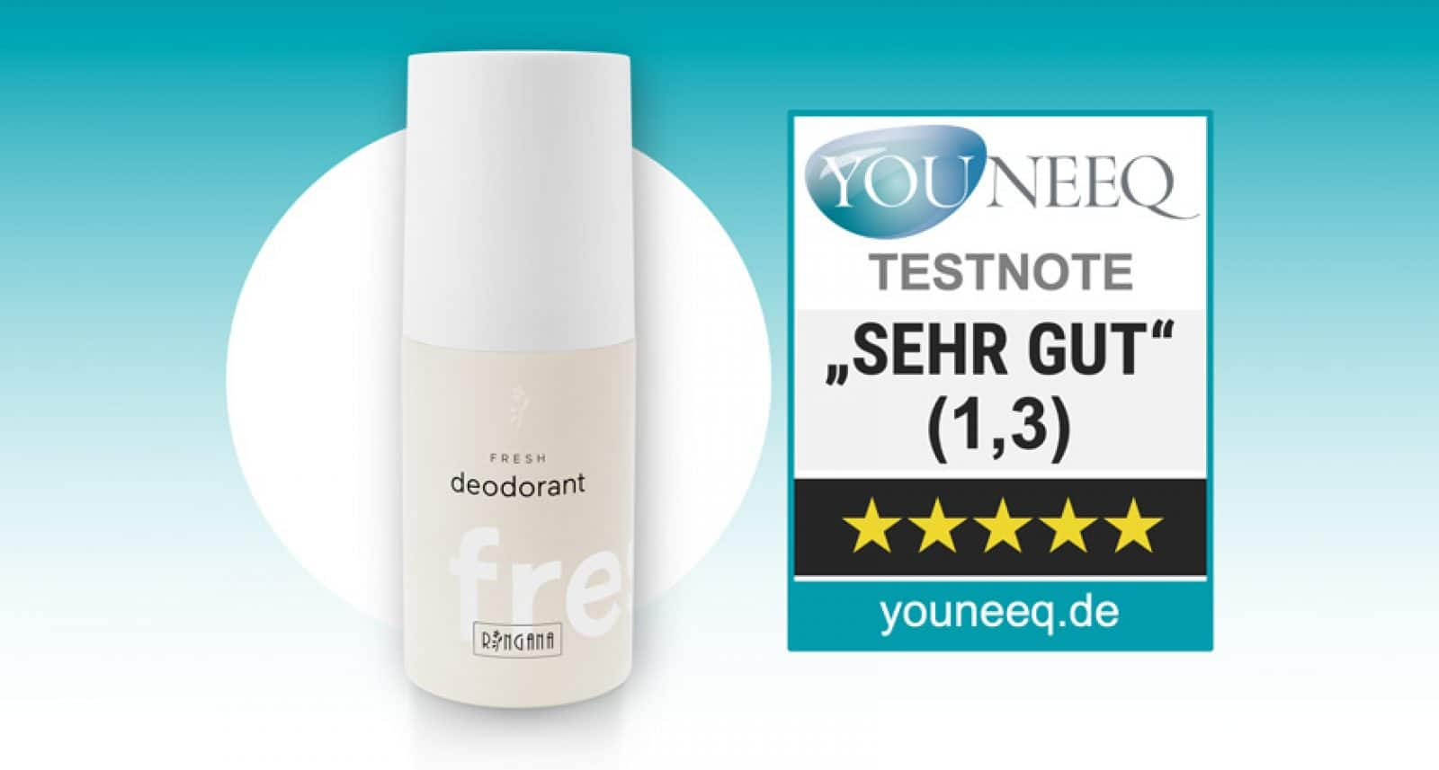 Ringana Fresh Deodorant Test