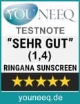 Ringana Sunscreen Test