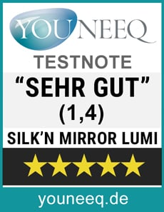 Silk'n Mirror Lumi Test Siegel