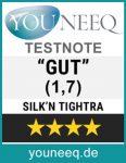 Silk'n Tightra Testurteil GUT