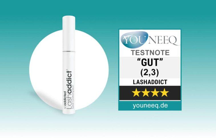 So Addicted LashAddict Wimpernserum Test