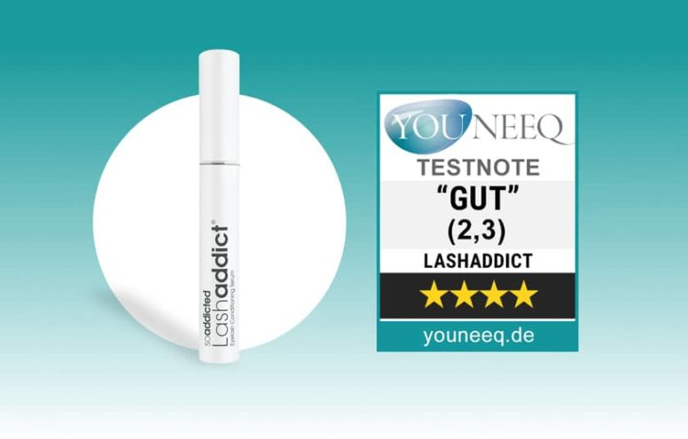 So Addicted LashAddict Wimpernserum Test