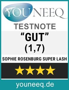 Sophie Rosenburg Wimpernserum Test