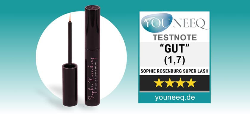 Sophie Rosenburg Wimpernserum Test