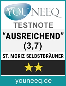 St Moriz Selbstbräuner Test Siegel
