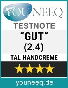 Tal Handcreme Test