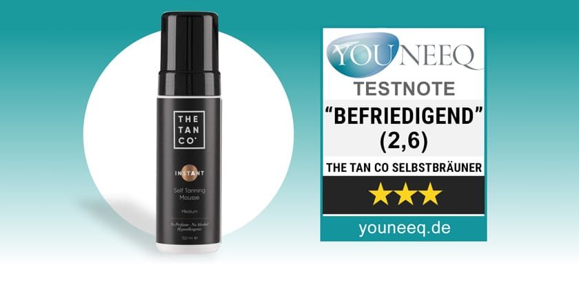 The Tan Co Selftanning Mousse Test