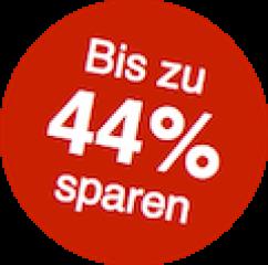 Jetzt 44% sparen
