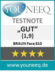 Braun Face Test