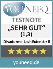 Divaderme Lash Extender II Testbericht