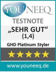 GHD Platinum Styler Haarglätter Test Youneeq