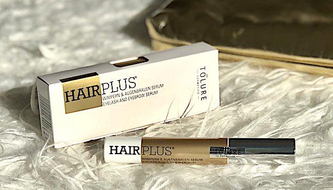 Tolure Hairplus Wimpernserum Test