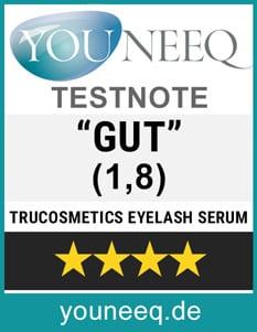 Tru Cosmetics Eyelash Serum Test